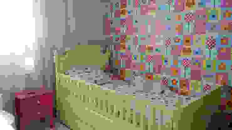 غرفة الاطفال تنفيذ PRISCILLA BORGES ARQUITETURA E INTERIORES, إنتقائي