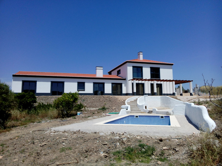 VM_arquitetura Rumah Gaya Country Kayu Buatan White