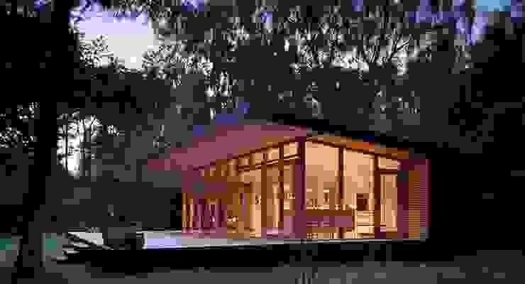 LOFT Hoteles de estilo minimalista de CHALETS Y LOFTS JK Minimalista Concreto
