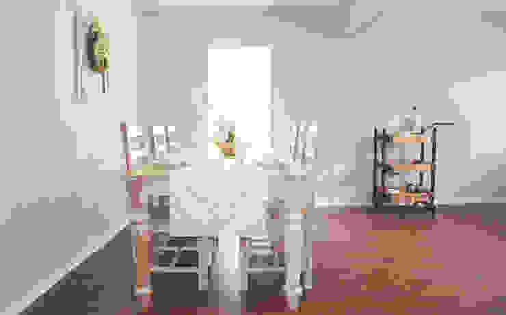 Home Staging Pecan Valley San Antonio Tx Rustic style dining room by Noelia Ünik Designs Rustic