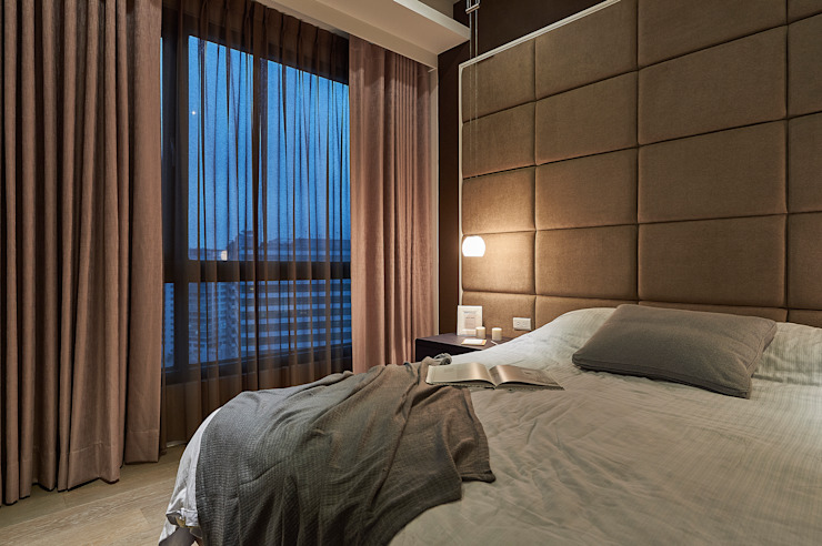 現代飯店風新店潘宅 根據 舍子美學設計有限公司 現代風