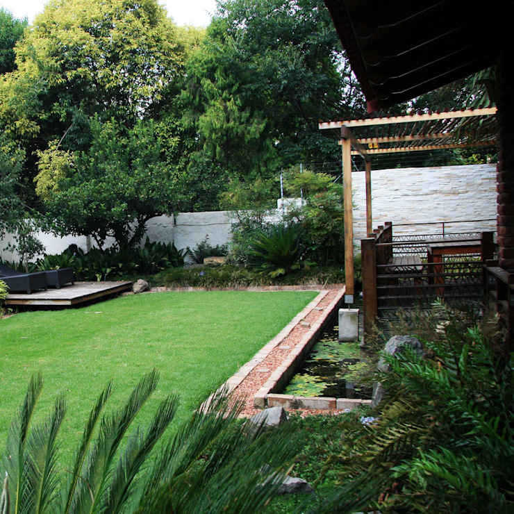Ilkley Road Modern Garden by Ininside Modern