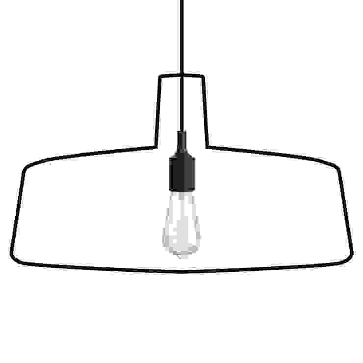 Lamp Ligne sticker hanglamp van Wisse Trooster - qoowl Industrieel Kunststof