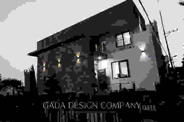 양산 단독주택 모던스타일 주택 by GADA design company 모던