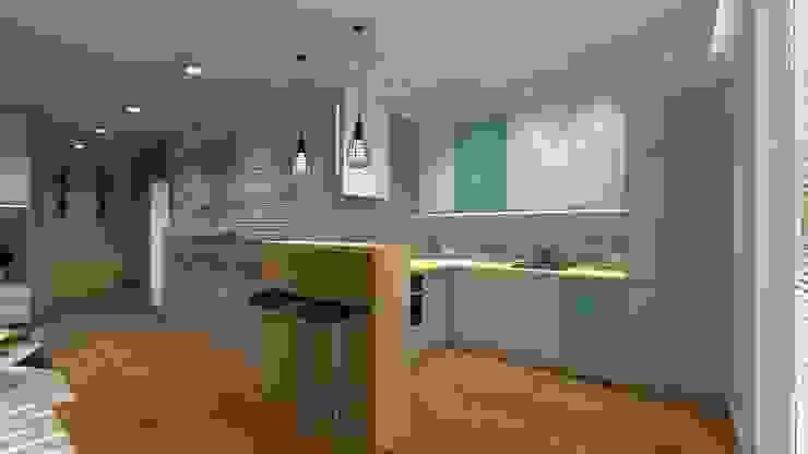 Icw Studio Cocinas de estilo moderno