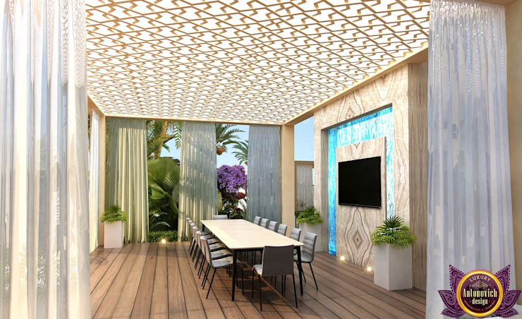 by Luxury Antonovich Design Середземноморський