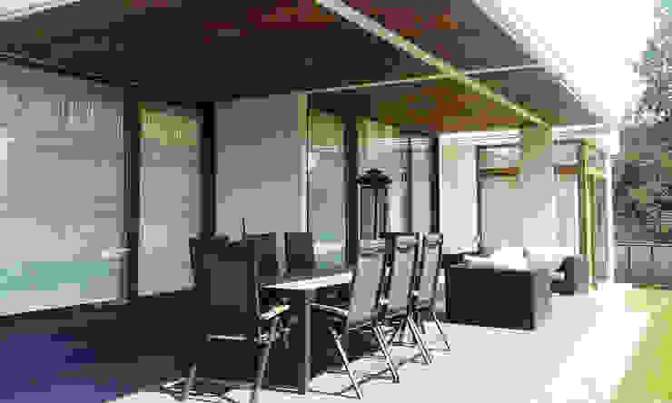 Casa La Reina: Terrazas  de estilo  por Arc Arquitectura