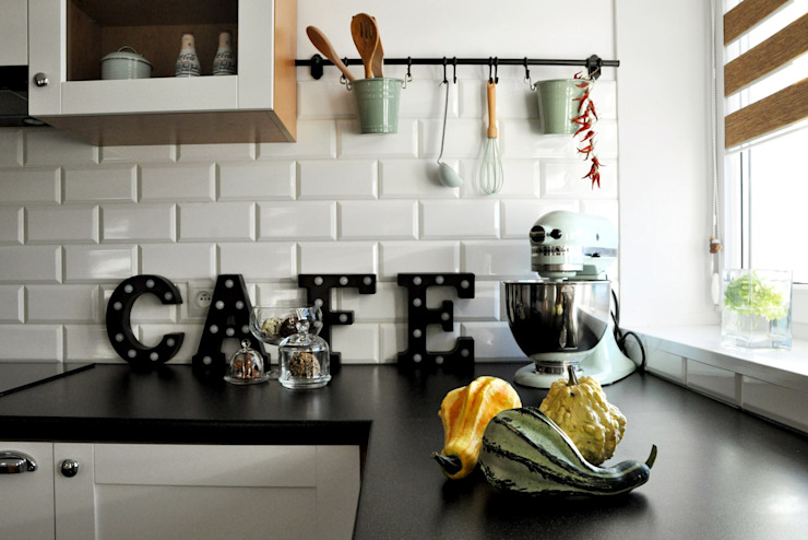 Eclectic style kitchen by poziom3. Eclectic