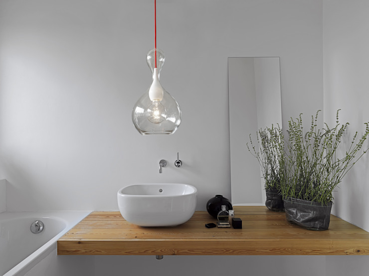 next home collection e.K. BathroomLighting Glass Transparent
