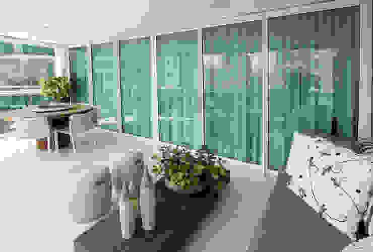 Varanda Social Varandas, alpendres e terraços modernos por Arquinovação - Projetos e Obras Moderno