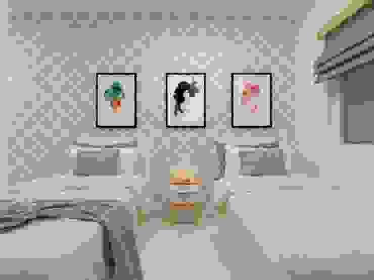 ห้องนอน โดย Atelie 3 Arquitetura, คันทรี่ แผ่น MDF