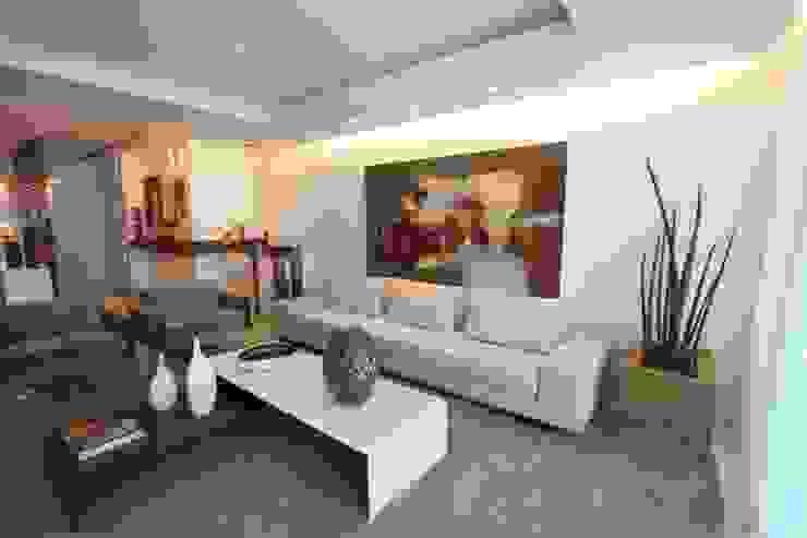 Sala de Estar Arquinovação - Projetos e Obras Salas de estar modernas