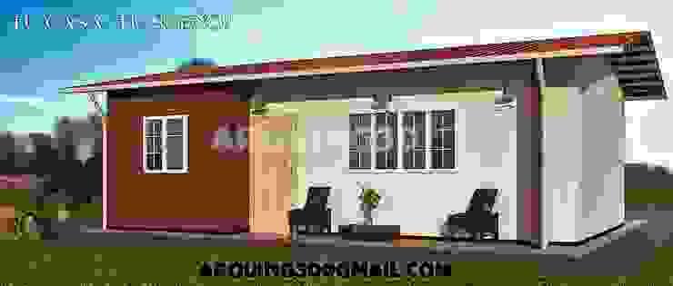 Arquing3d Rumah Klasik Batu Bata Beige