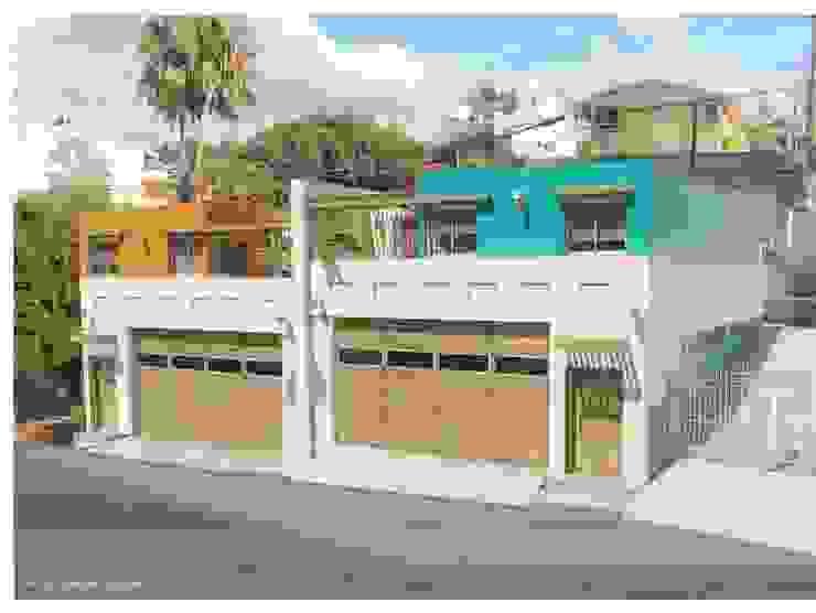 Maisons de style  par ALUR Arquitectos, Méditerranéen