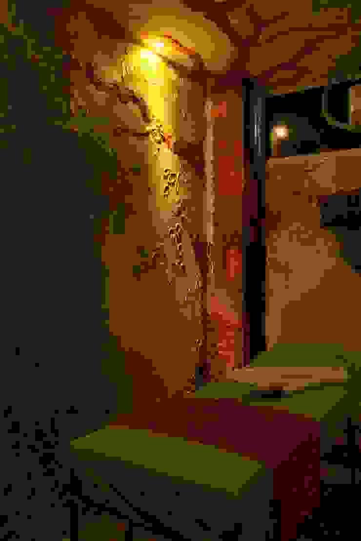 Sala de masajes de Lina Rosas Diseño Interior Ecléctico Bambú Verde