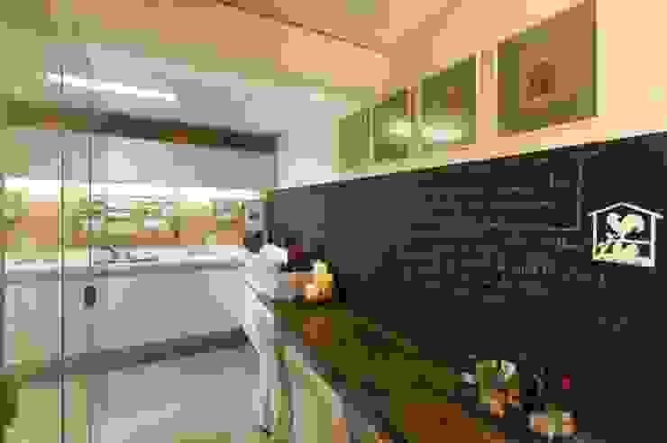 Modern Kitchen by Daniela Tolotti Arquitetura e Design Modern