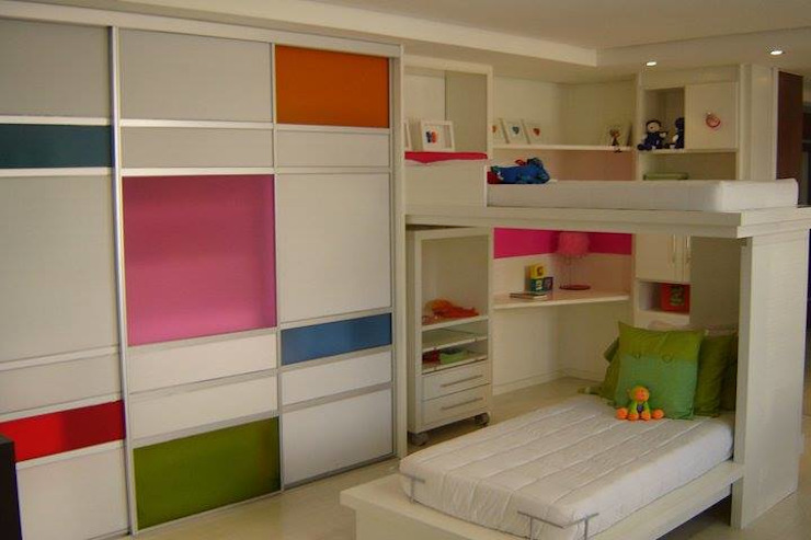 Interiores Quartos modernos por Daniela Tolotti Arquitetura e Design Moderno