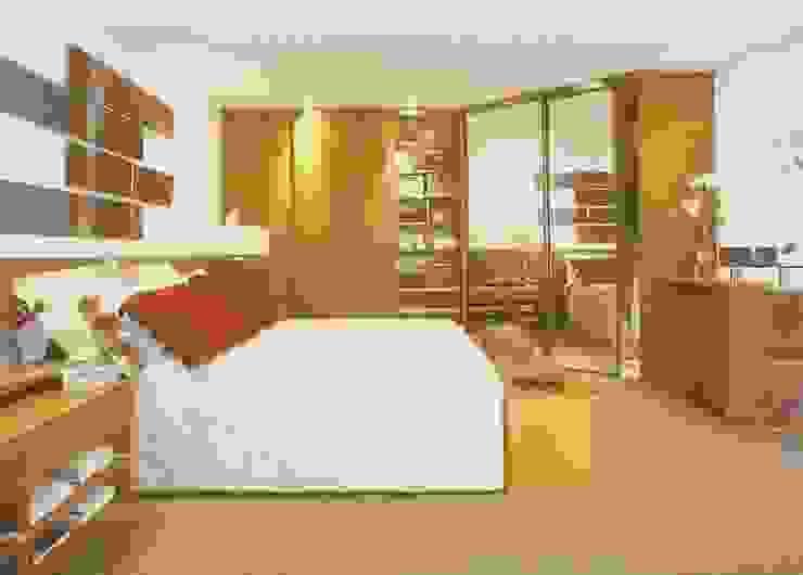 Modern Bedroom by Daniela Tolotti Arquitetura e Design Modern