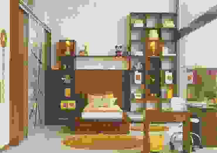 Daniela Tolotti Arquitetura e Design Modern Yatak Odası