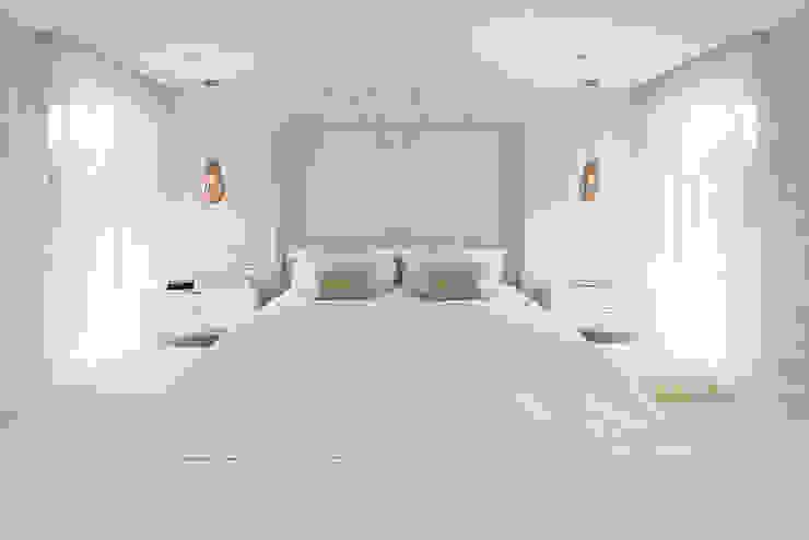 master bedroom Mediterranean style bedroom by niche pr Mediterranean Wood Wood effect