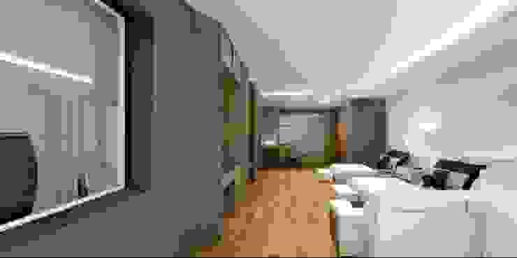 Double bed room suite hotel. โดย Kunst Studio