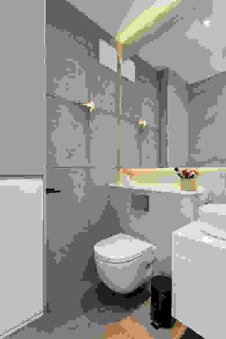 Kameleon - Kreatywne Studio Projektowania Wnętrz Eclectic style bathroom