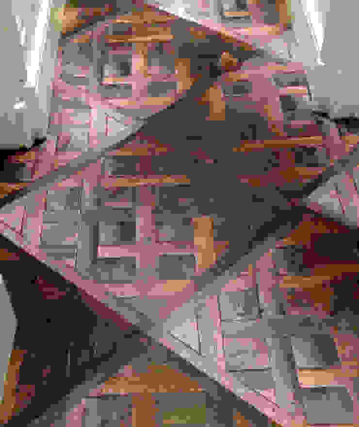 3D Vinyl Flooring Couloir, entrée, escaliers modernes par Blue Butterfly Flooring Moderne