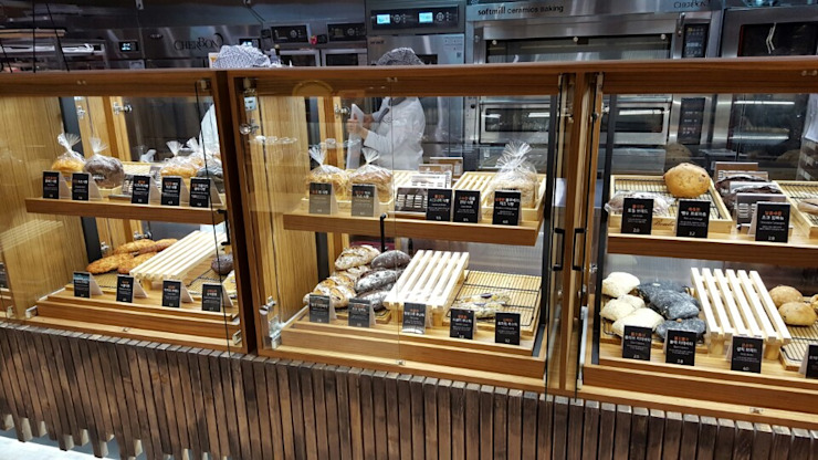 쉐르본 유기농 베이커리 카페:위례 신도시 광장로 by (주)지상에스엘 모던