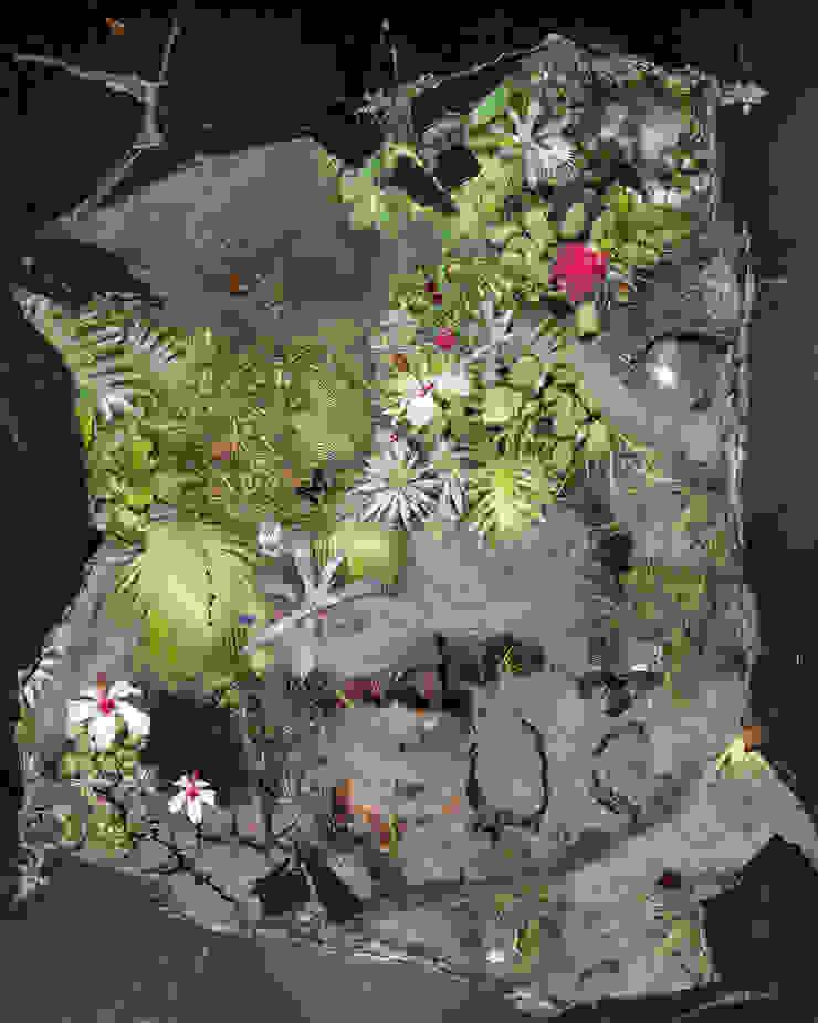 3D Vinyl Flooring Jardin d'hiver moderne par Blue Butterfly Flooring Moderne