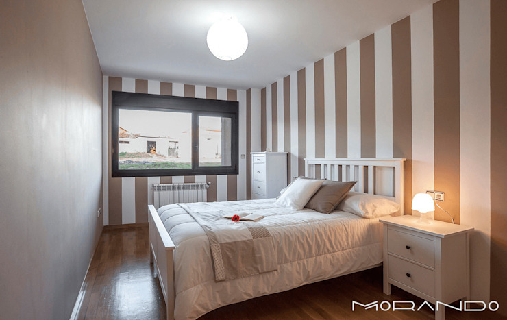 Bedroom by MORANDO INMOBILIARIA