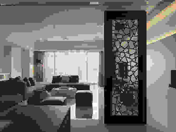 低調奢華 現代風玄關、走廊與階梯 根據 倍果設計有限公司 現代風
