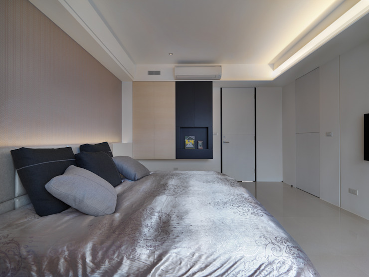 Спальня в стиле модерн от 倍果設計有限公司 Модерн