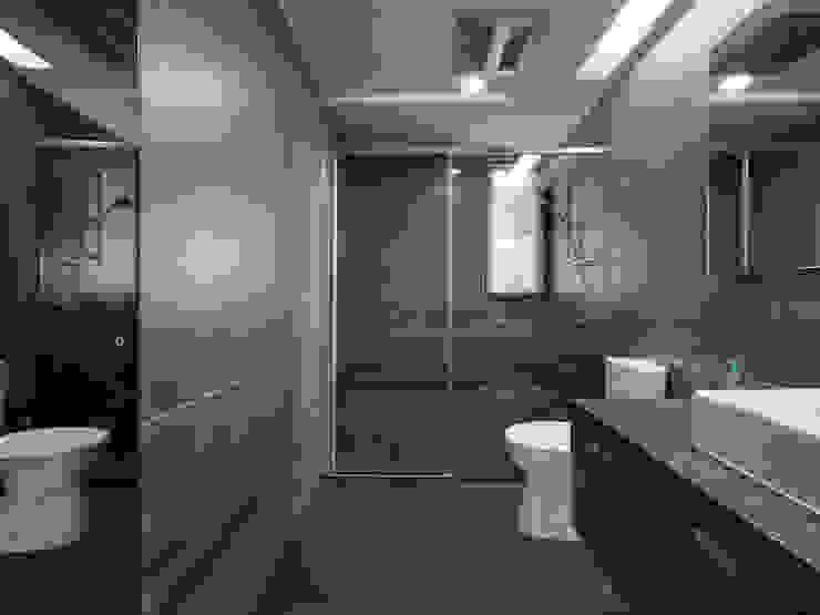 Ванная комната в стиле модерн от 倍果設計有限公司 Модерн