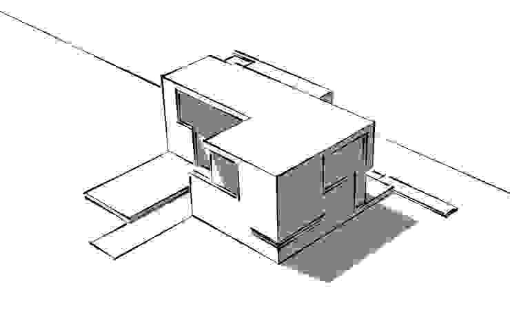 Skizze: modern  von Fichtner Gruber Architekten,Modern