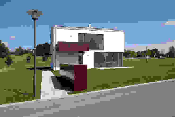 Ansicht von Südwesten Moderne Häuser von Fichtner Gruber Architekten Modern