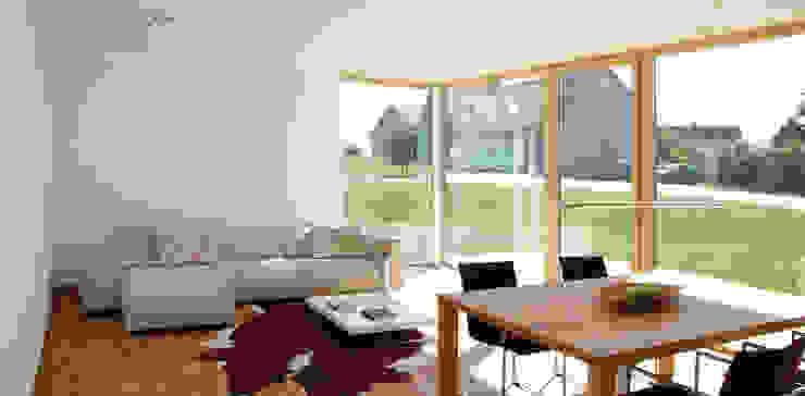 Wohnen Fichtner Gruber Architekten Moderne Wohnzimmer
