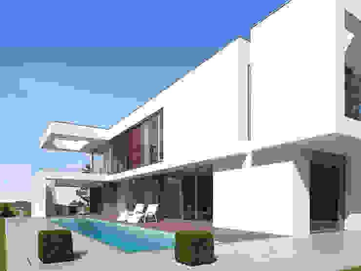 Terrassenbereich Moderne Häuser von Fichtner Gruber Architekten Modern