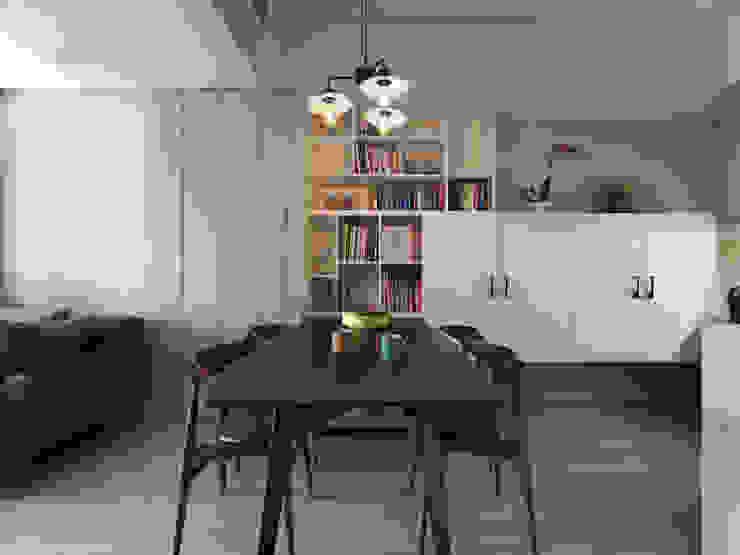 倍果設計有限公司 Scandinavian style study/office