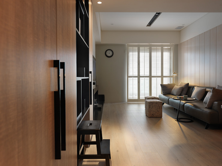 倍果設計有限公司 Colonial style living room