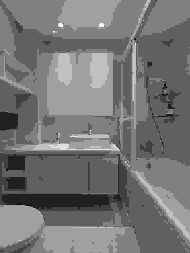 倍果設計有限公司 Scandinavian style bathroom