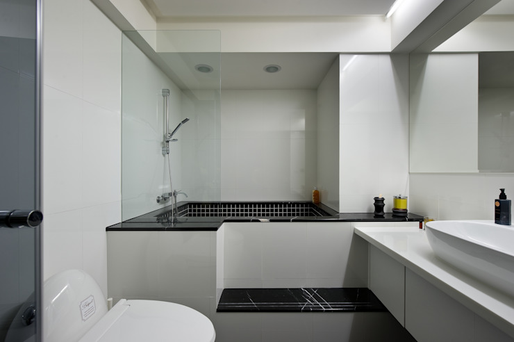 Minimal style Bathroom by 倍果設計有限公司 Minimalist