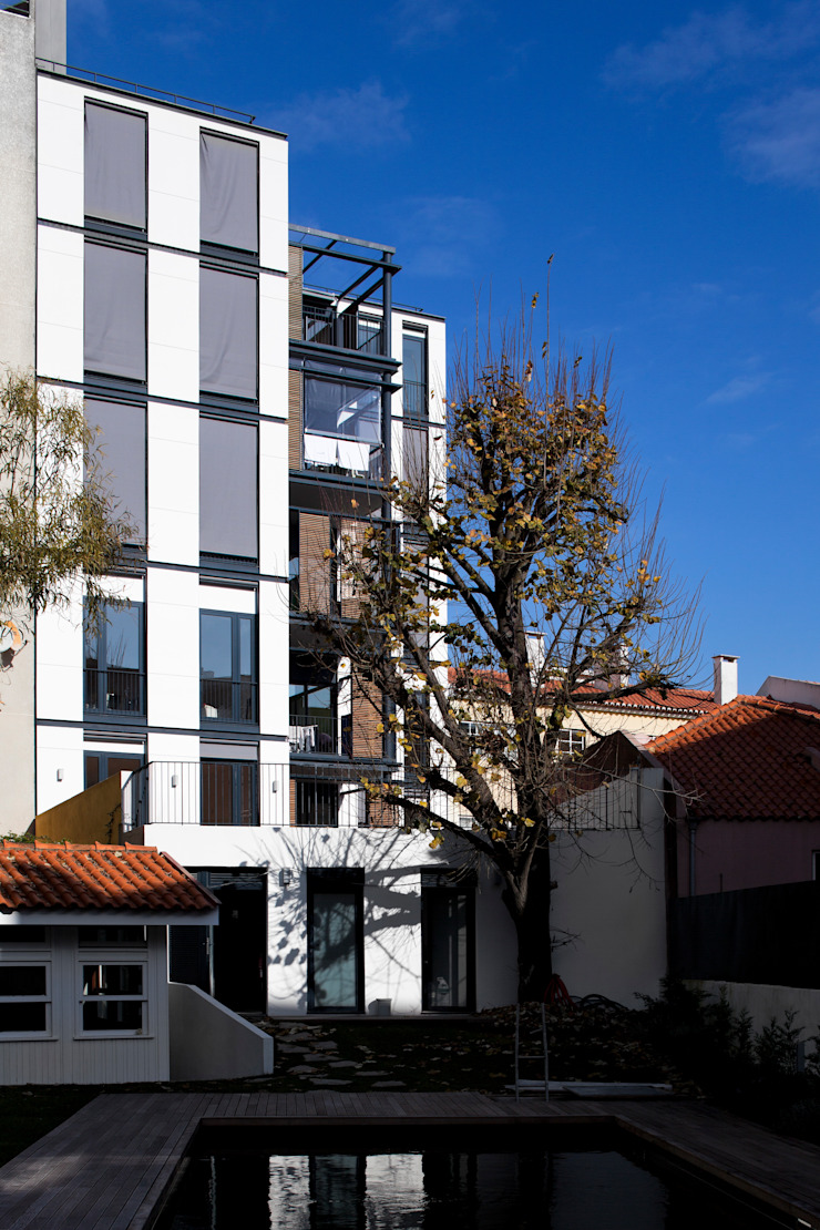 RRJ Arquitectos Nowoczesne domy