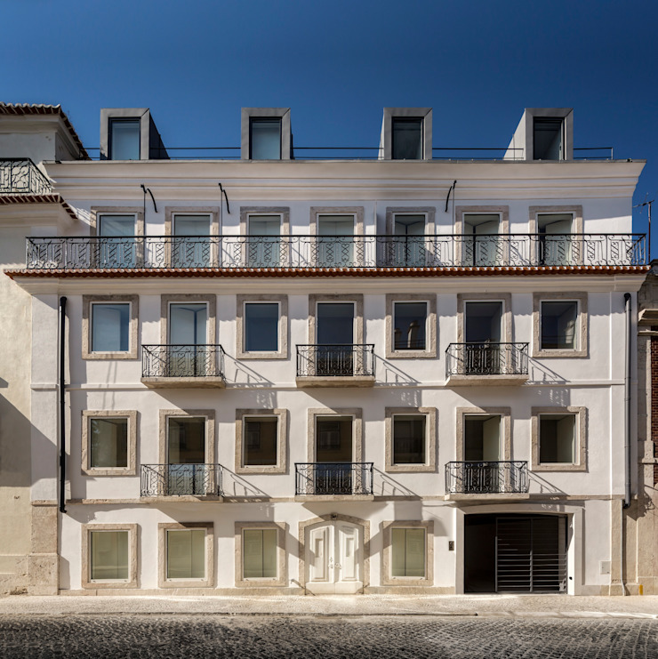 RRJ Arquitectos 現代房屋設計點子、靈感 & 圖片
