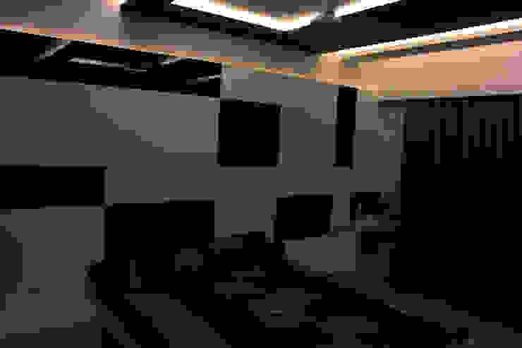 Interiors Modern living room by Galaxy infra interior design consultants pvt.ltd Modern