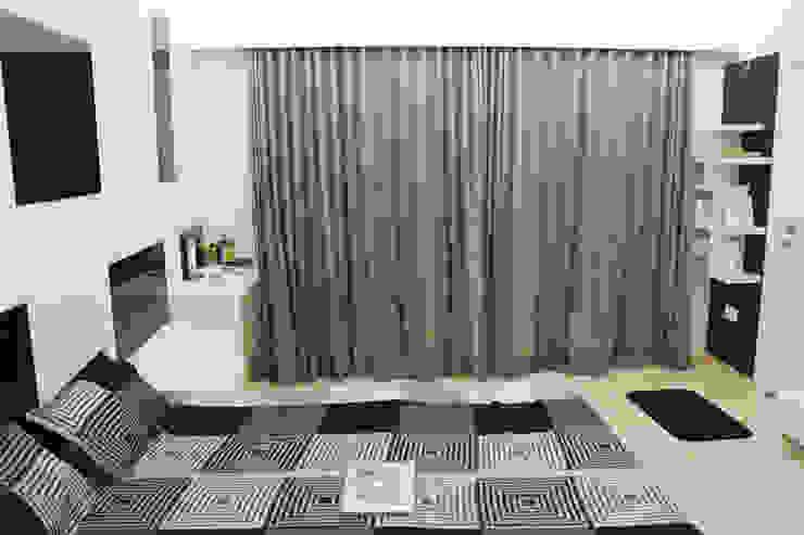 Interiors Modern style bedroom by Galaxy infra interior design consultants pvt.ltd Modern