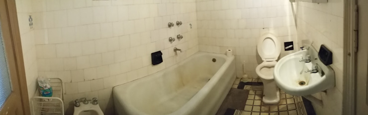Eclectic style bathroom by AUREA Estudio de Diseño Eclectic