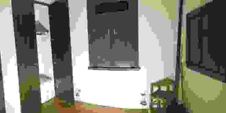 Eclectic style bedroom by AUREA Estudio de Diseño Eclectic
