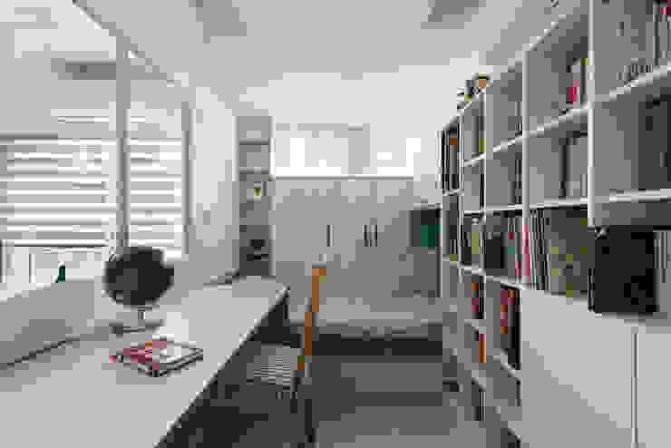 家:  書房/辦公室 by 倍果設計有限公司, 北歐風