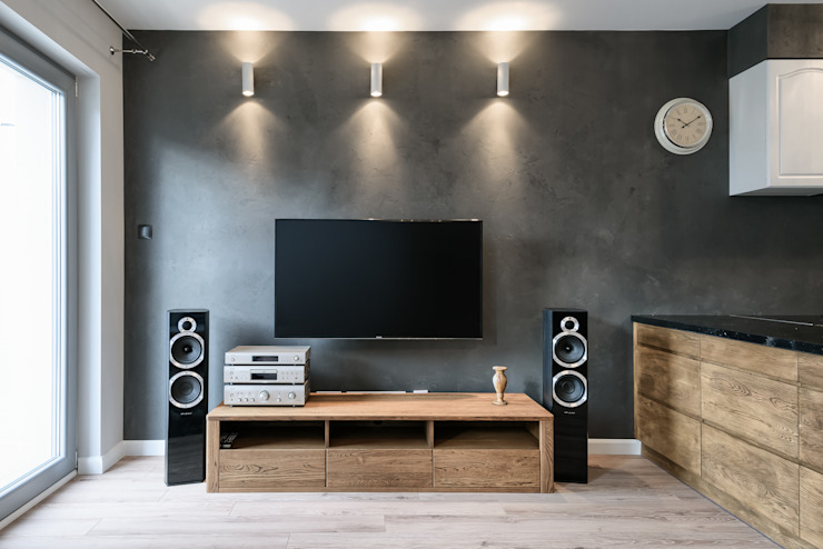Ruang Keluarga Modern Oleh Q2Design Modern