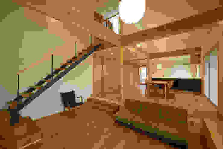 アトリエ・アースワーク Scandinavian style living room